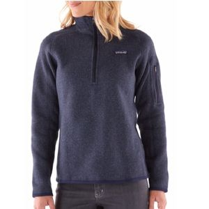 Patagonia Better Sweater quarter zip pull over